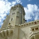 Hluboká nad Vltavou - zámecká věž
